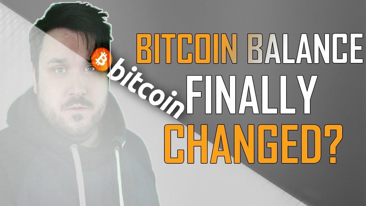 Has the Bitcoin Balance Finally Changed?