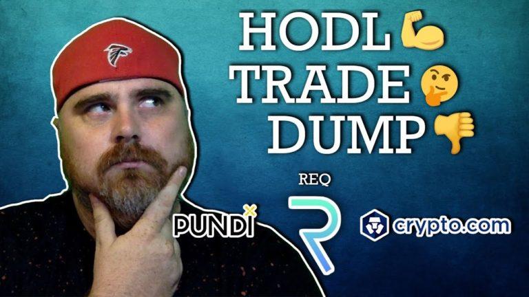 Hodl, Trade, or Dump: Pundi x vs Crypto.com vs Request Network