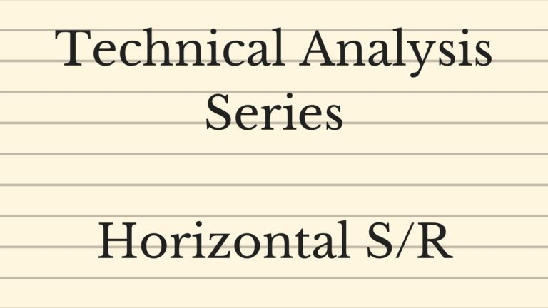 Horizontal Support/Resistance – Technical Analysis Series