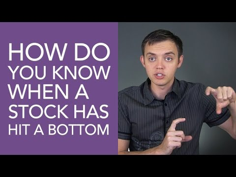 How Do You Know When a Stock Hit a Bottom?