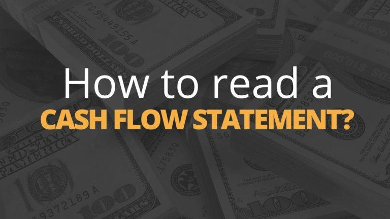 How Do You Read a Cash Flow Statement?   Phil Town