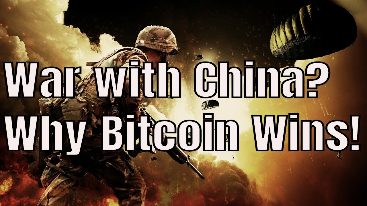 How the WAR with China will PUSH Bitcoin to $100,000!