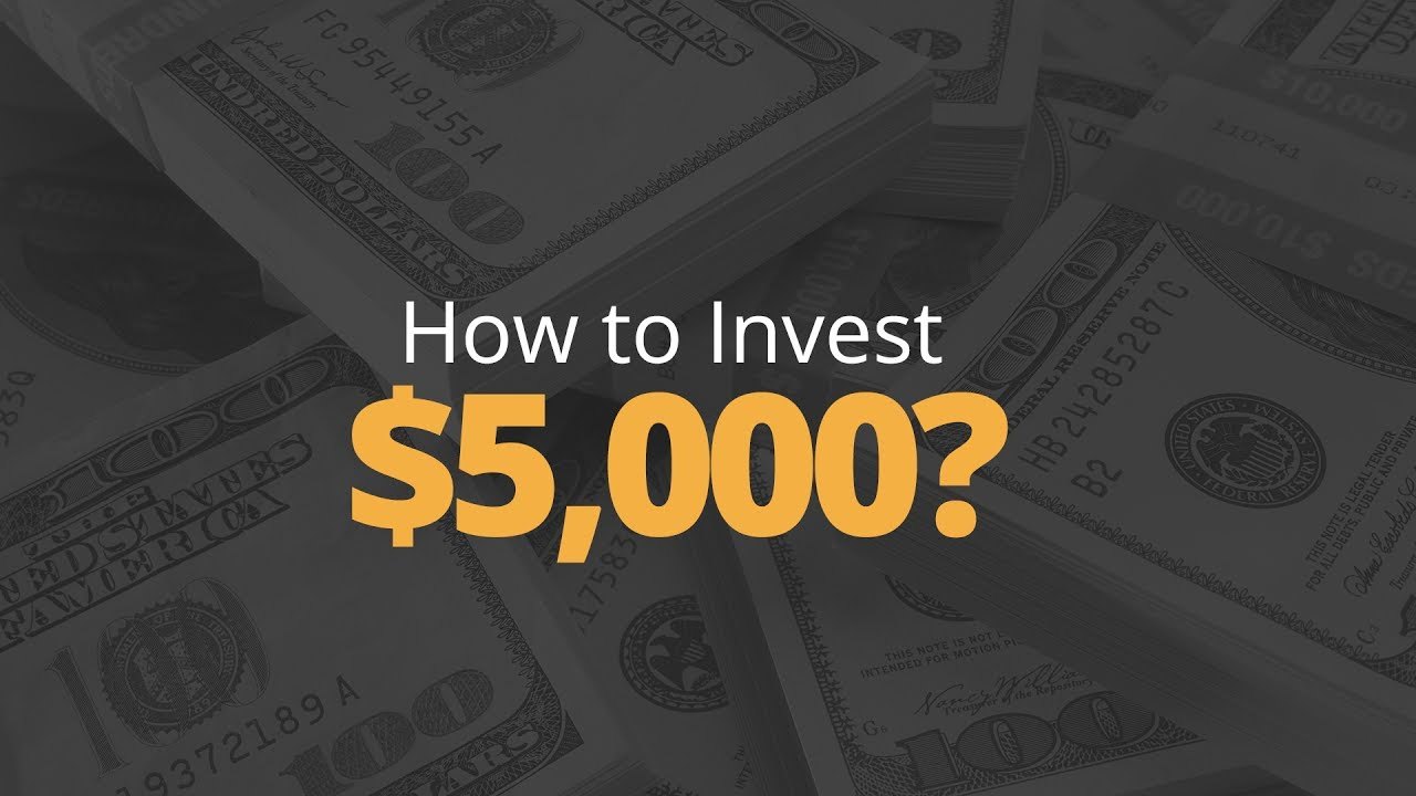 How to Invest: Invest Your First $5000   Phil Town