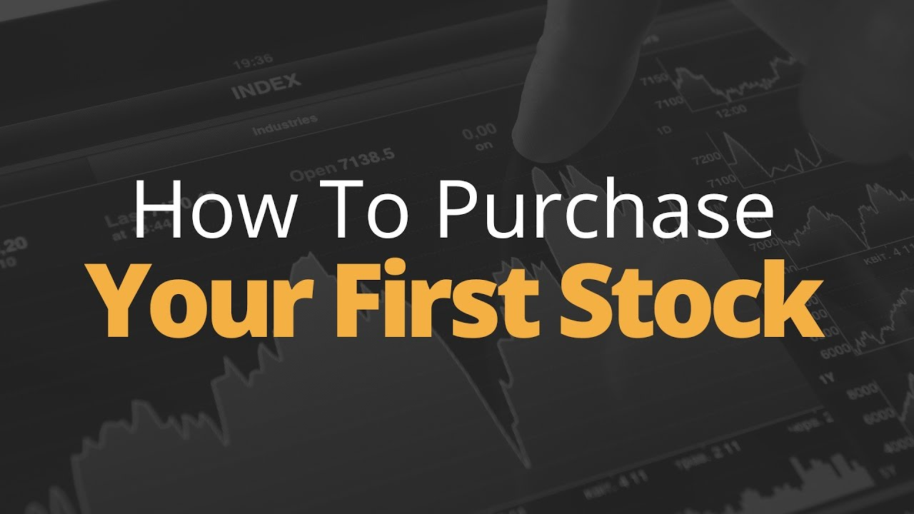How to Purchase Your First Stock   Phil Town