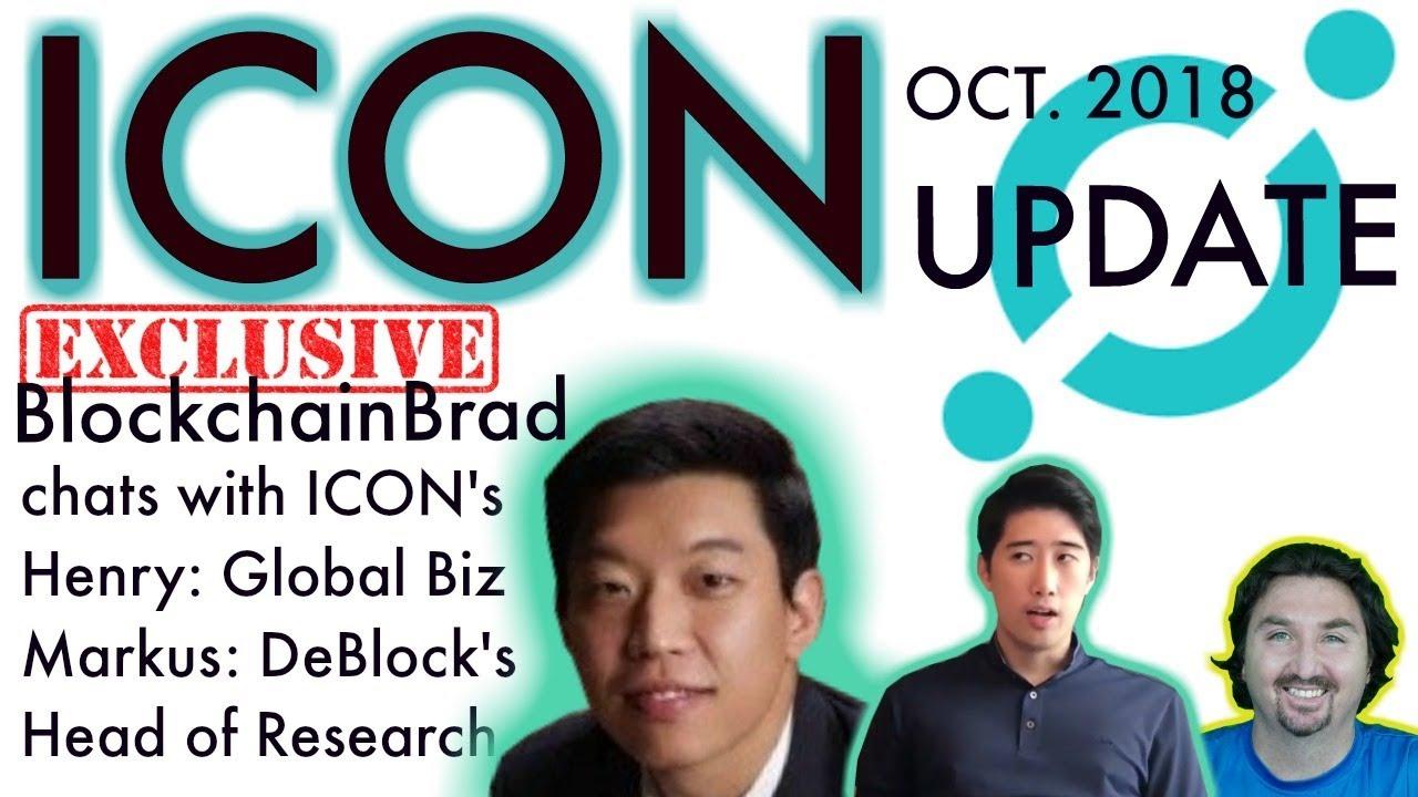 ICON $ICX Exclusive Update | BlockchainBrad | DeBlock | Crypto Interview