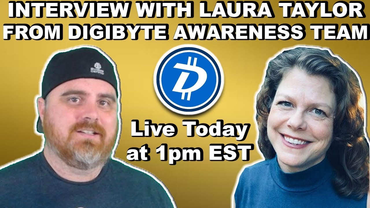Interview with Laura Taylor from DGB Awareness Team   BitBoy Crypto Livestream