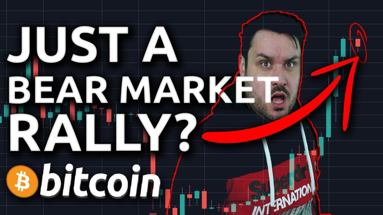 "Just A Bitcoin ""Bear Market Rally""?"