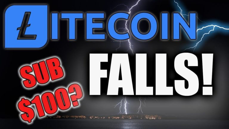 LITECOIN PRICE FALLS – IS SUB $100 LTC IN PLAY?