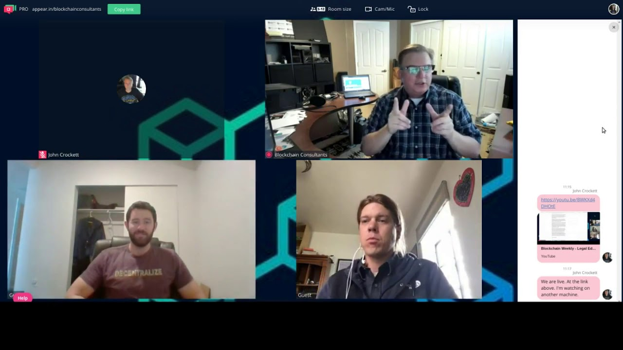 Let's talk about STO's - Blockchain Weekly Legal Edition with- Joseph Reiben