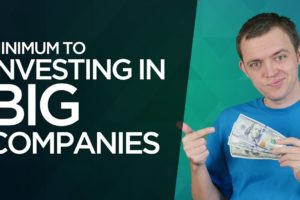 Minimum to Investing in Big Companies within Stocks?