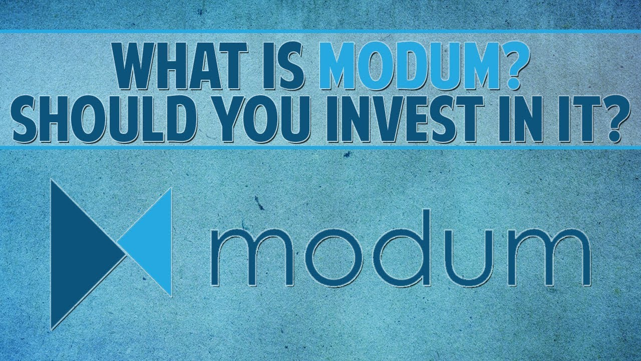 Modum (MOD) - What is it? Should you invest in it?