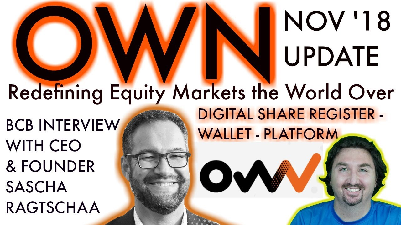 OWN UPDATE | BlockchainBrad Exclusive with $CHX CEO | New Equity Platform | Digital Share Register