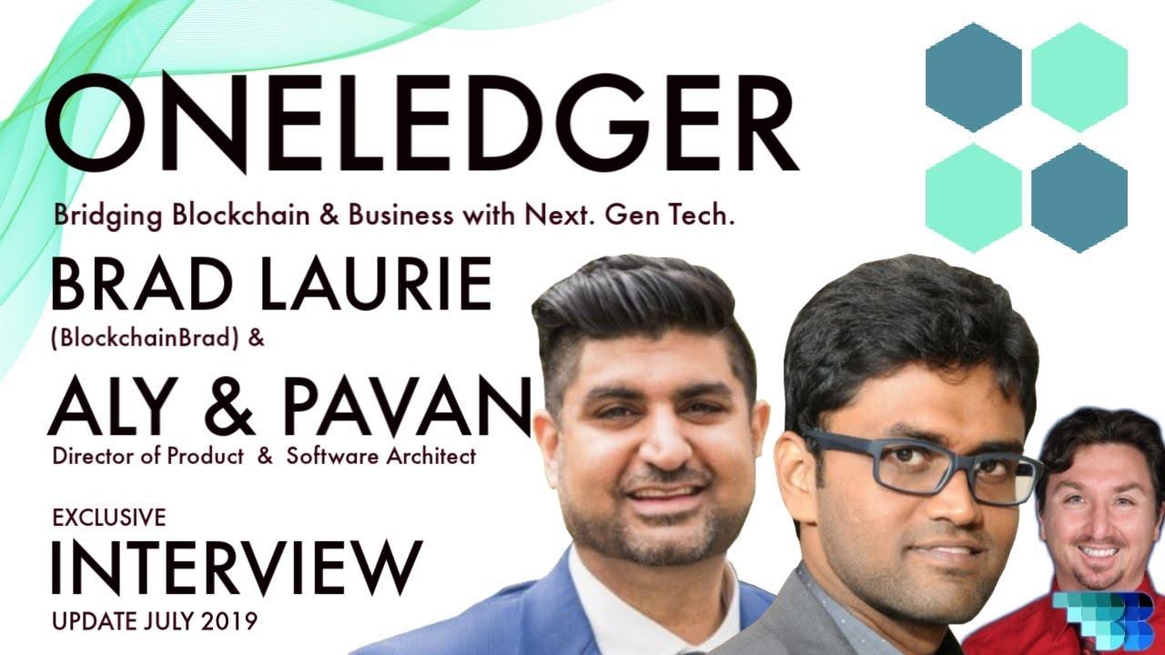 OneLedger | Blockchain Interoperability |  Blockchain Business Tech | BlockchainBrad | BaaS | OLT