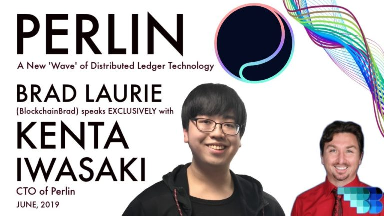 Perlin | Wavelet is Live! | BlockchainBrad | Crypto Interview | DAG-based Distributed Ledger | Tech
