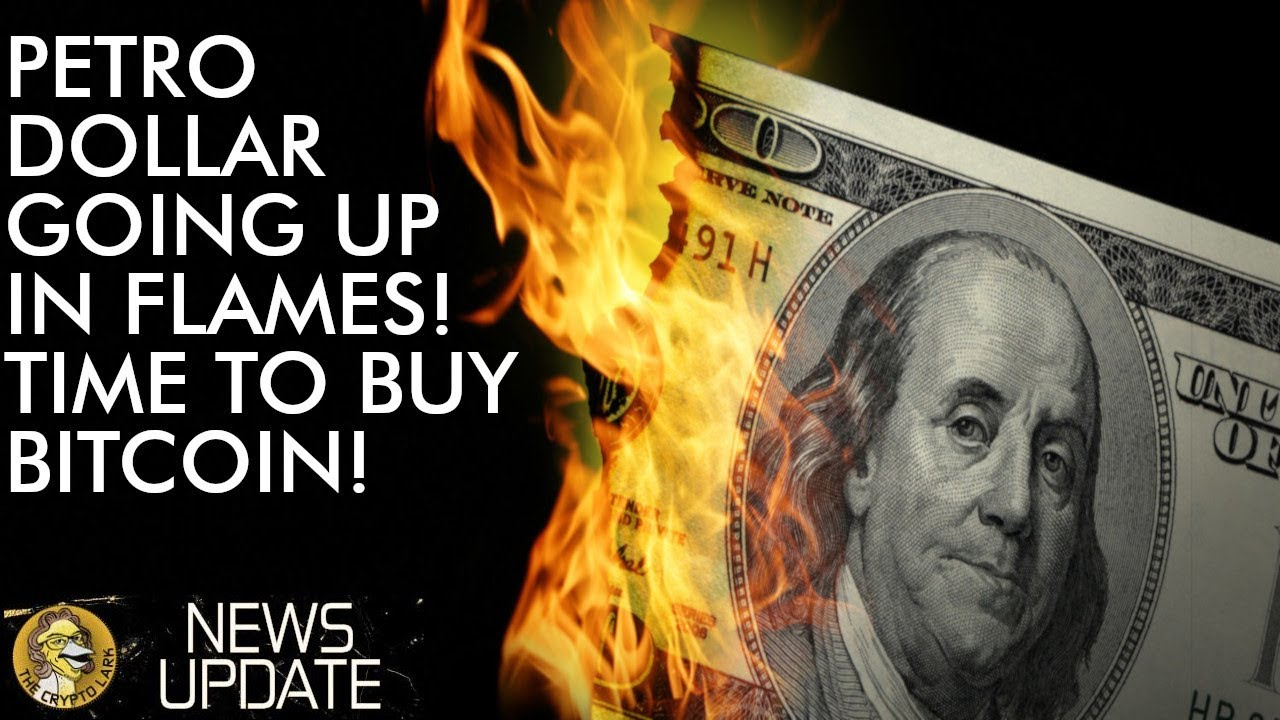 Petro Dollar Going Down In Flames - Buy Bitcoin