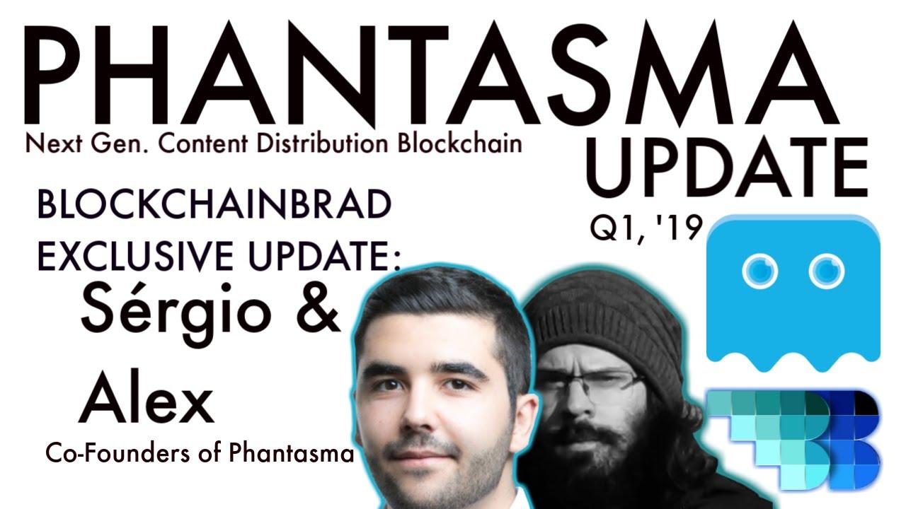Phantasma EXCLUSIVE update | BlockchainBrad | Crypto Chain Interoperability | Scalable Blockchain