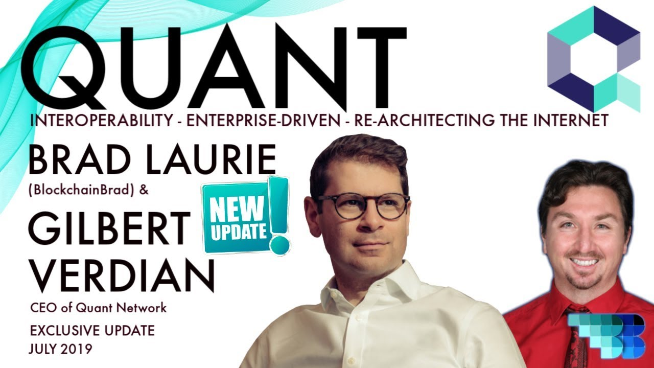 Quant Network | Blockchain Interoperability | Next Gen. OS | Overledger | BlockchainBrad