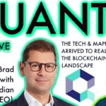Quant Network Update    BlockchainBrad   Crypto CEO Interview   Crypto news   Blockchain Business