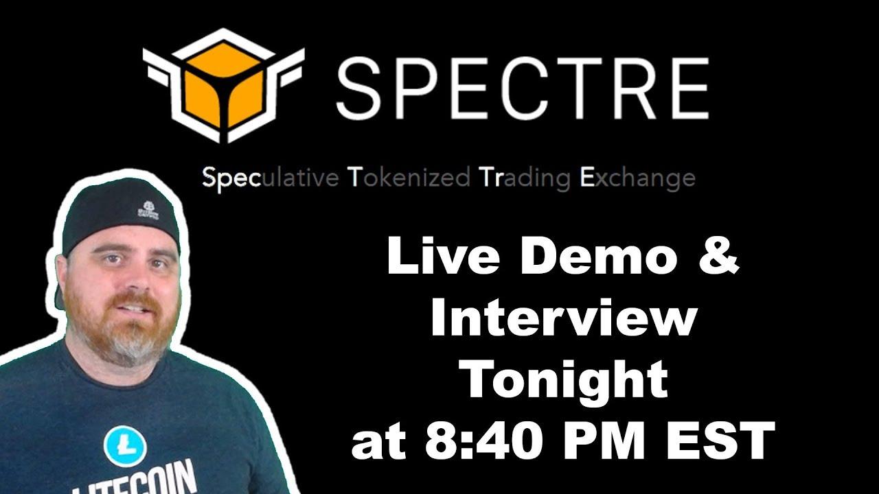 Spectre AI Demo & Interview | BitBoy Crypto Livestream
