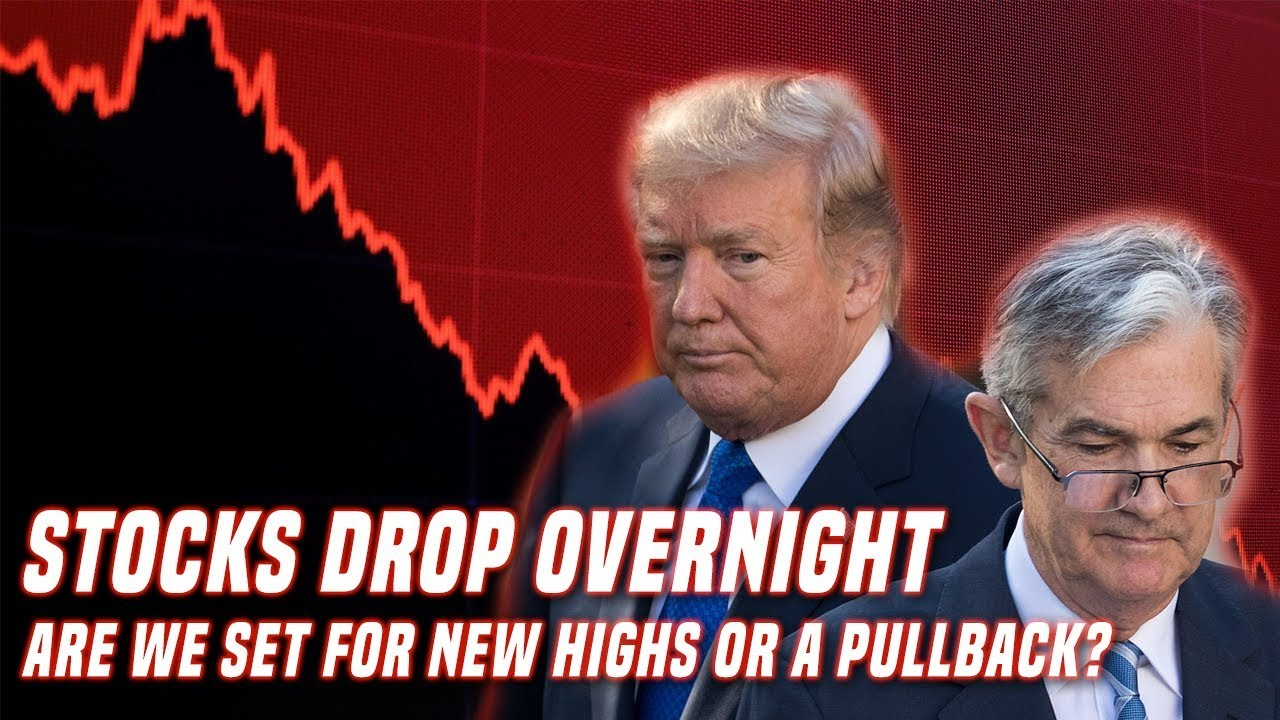 Stocks Drop 2% Overnight | Is the market topping again or is it just noise?