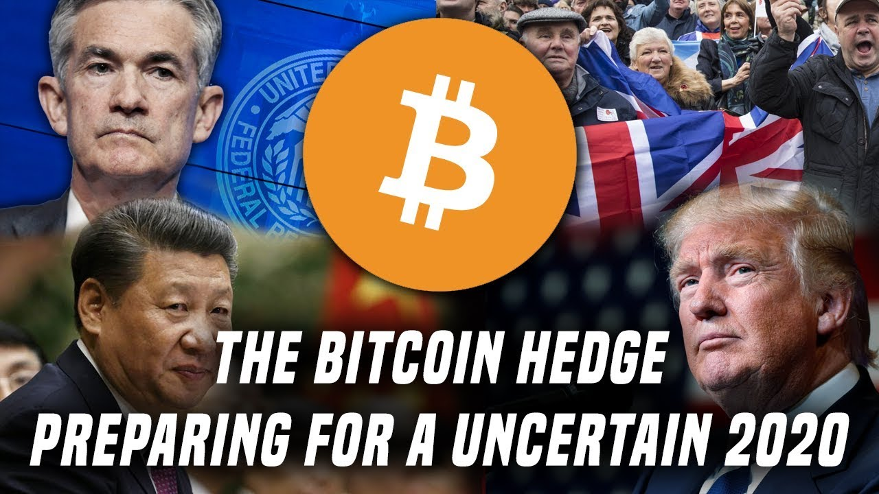 THE BITCOIN HEDGE | Preparing For An Uncertain 2020