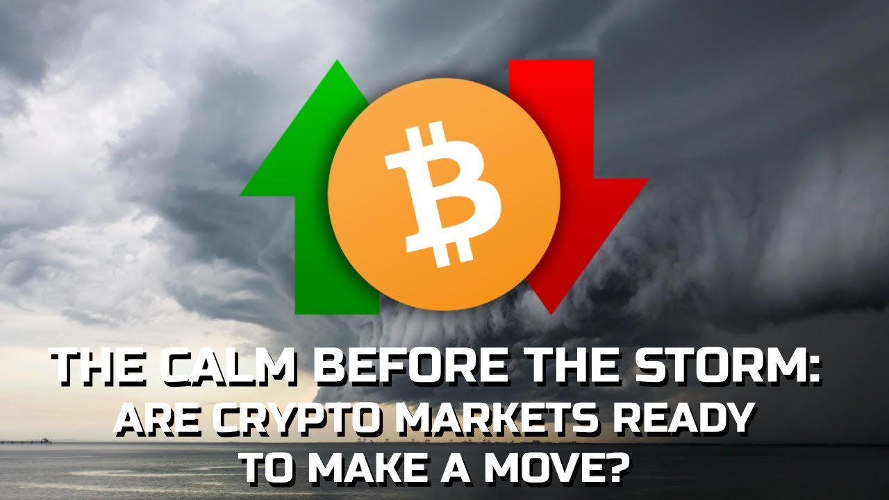 The Calm Before The Storm: Is Crypto Set For A Big Move Soon?
