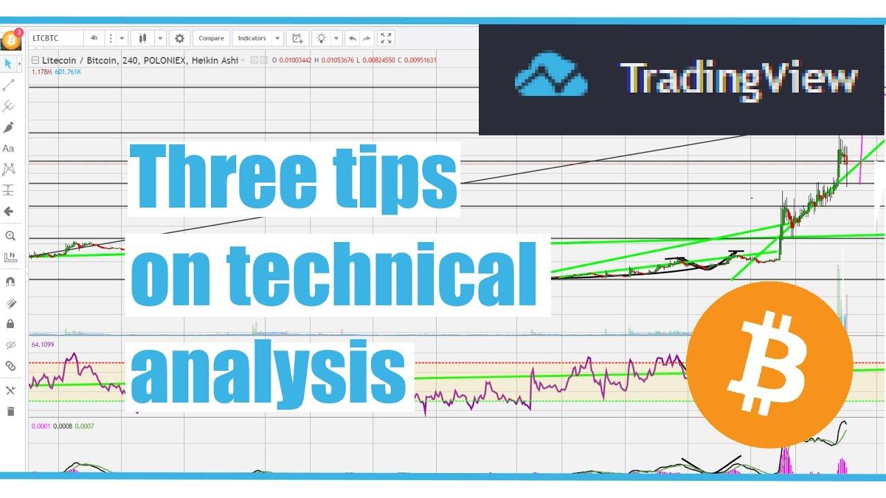 Three tips on technical analysis