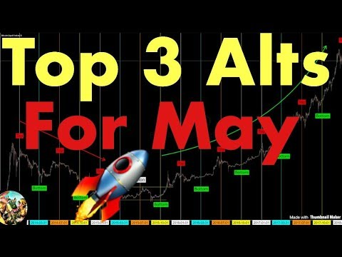 Top 3 Altcoins For May