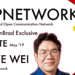 TopNetwork Exclusive Update   BlockchainBrad   Crypto Communication Network   Real-World Business