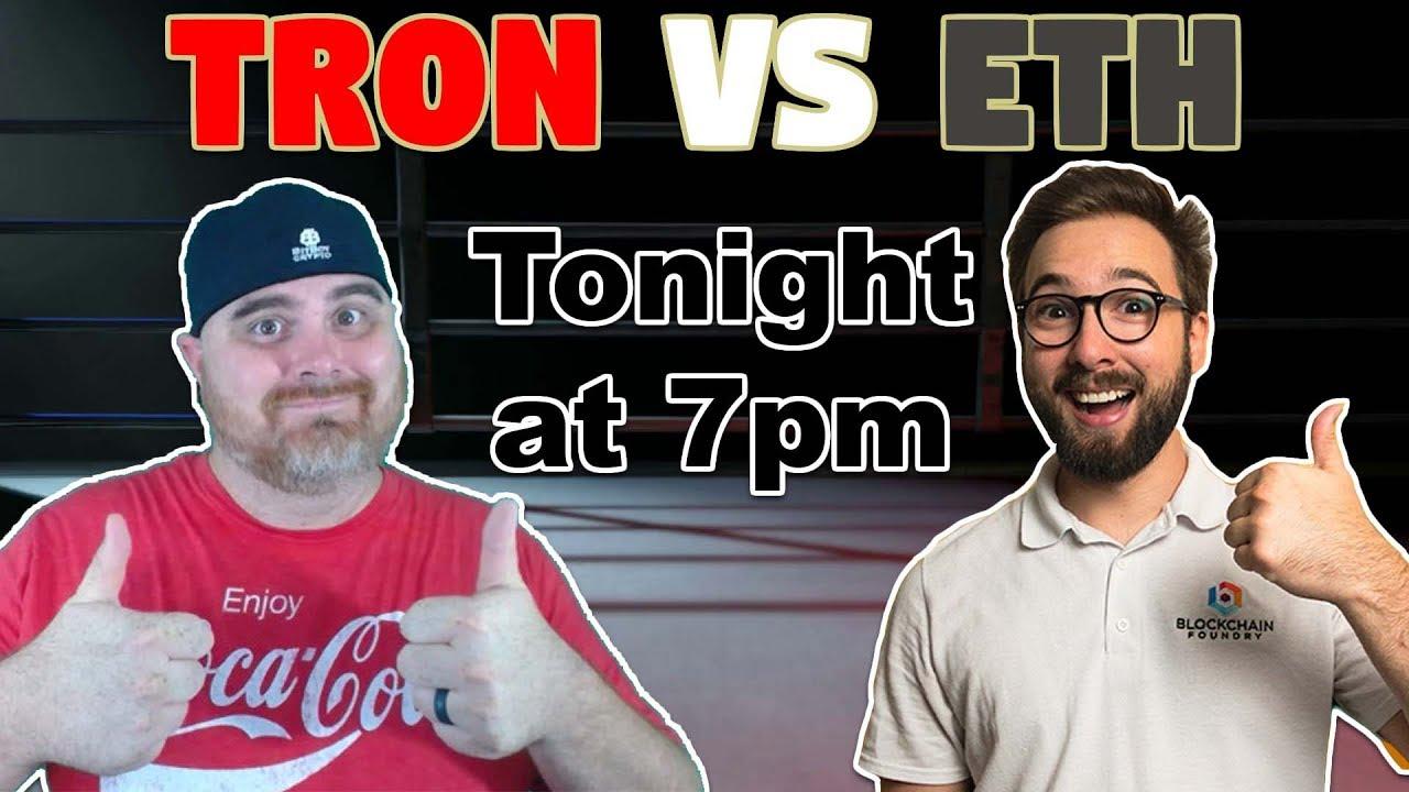 Tron vs ETH with Hashoshi | BitBoy Crypto Livestream