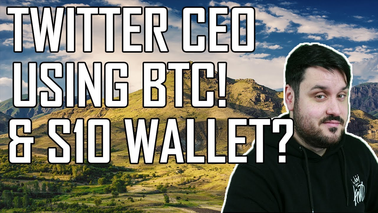 Twitter CEO Using Bitcoin! S10 Wallet? Eos vs Tron vs Ethereum