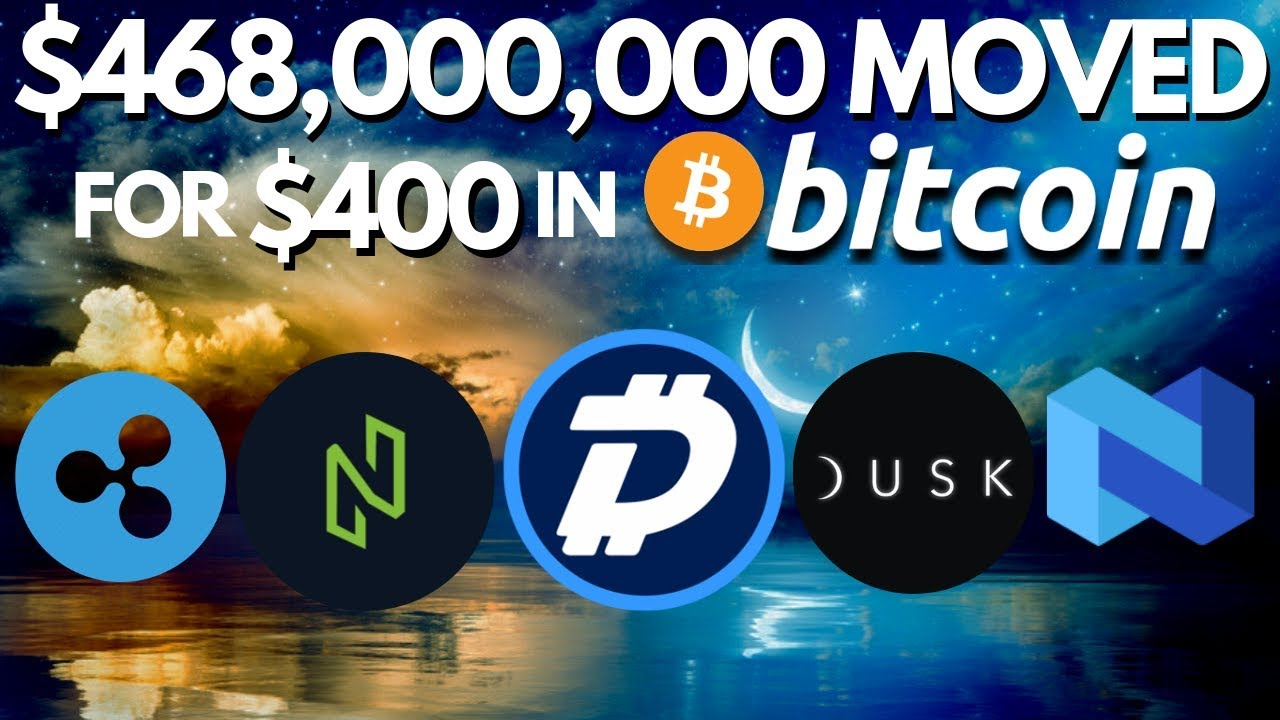 WHALE Moves $468 MILL in BTC! Digibyte, Nuls, Nexo - Bitcoin News