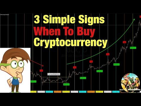 When To Buy Cryptocurrency - 3 Simple Signs