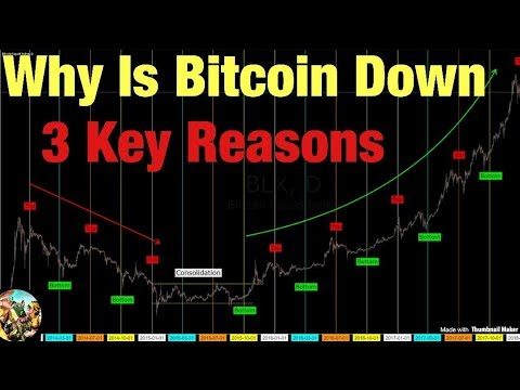 Why Is Bitcoin Down - 3 Key Reasons