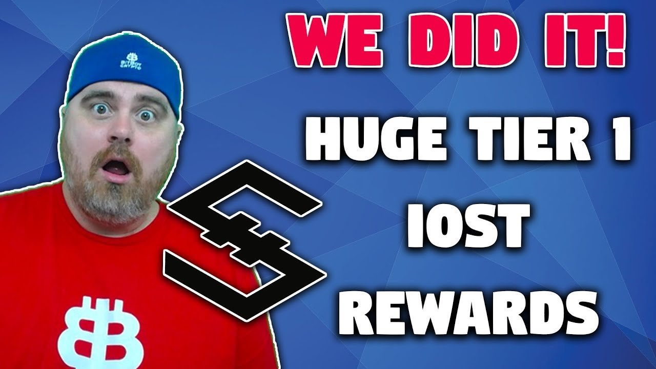 You Won't Believe this ROI   IOST Quarterly Rewards   WE DID IT!