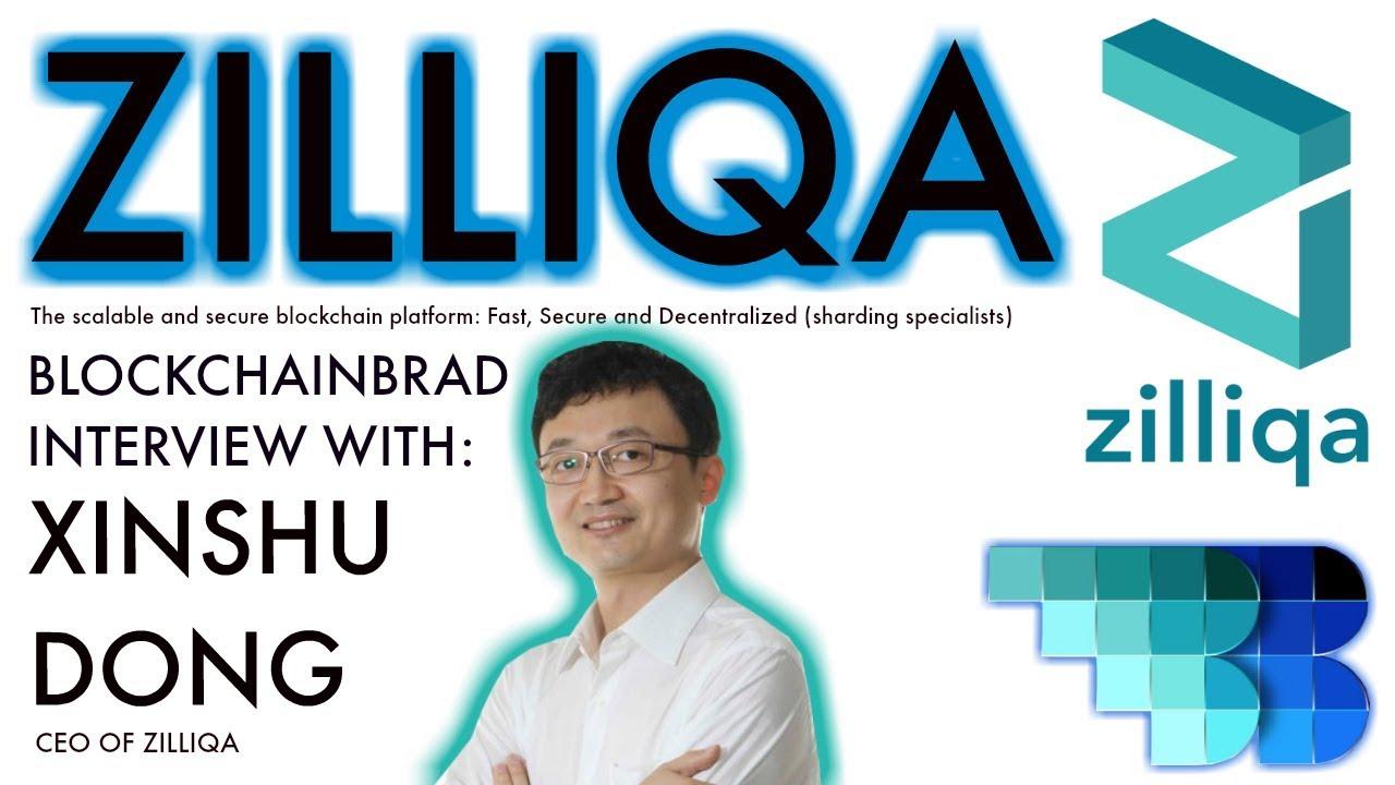 Zilliqa | BlockchainBrad Exclusive | $ZIL Crypto startup update | Fast Blockchain