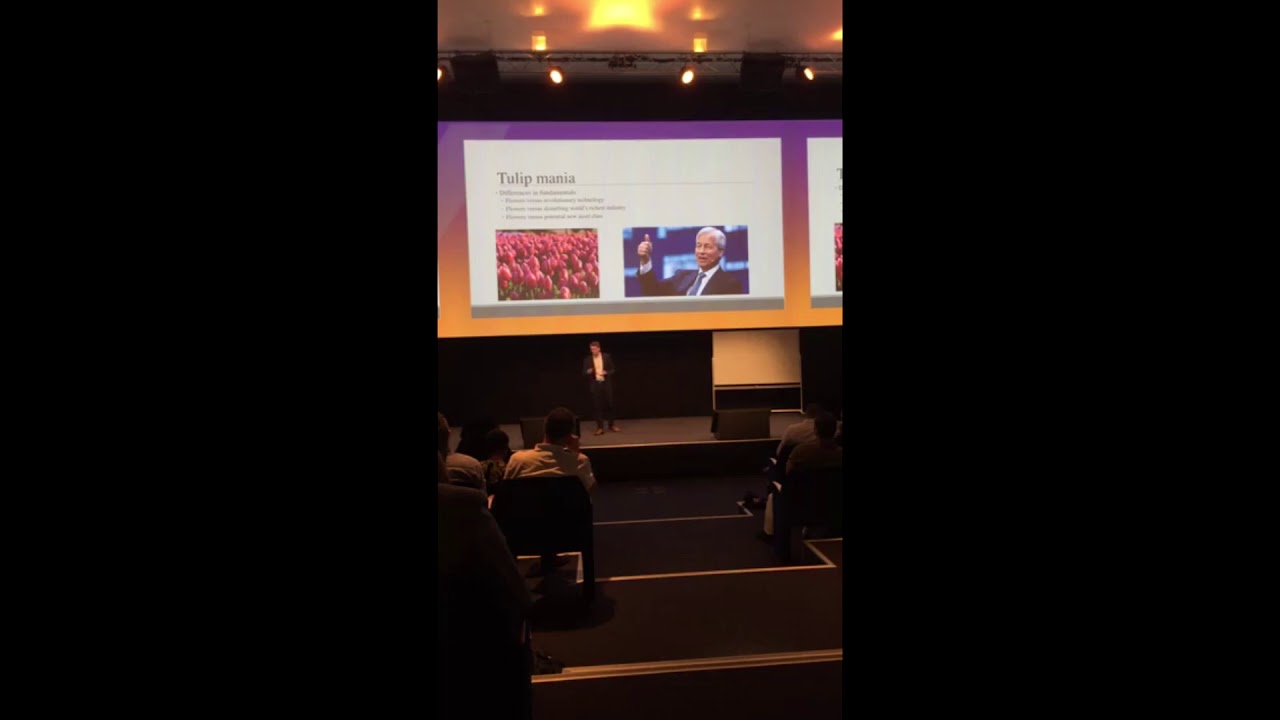 """""""Investing in blockchain and cryptocurrencies"""" - Bitcoinference Europe 2018"""