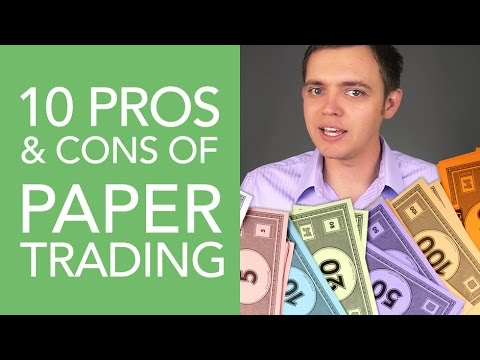 10 Pros & Cons of Paper Trading in the Stock Market
