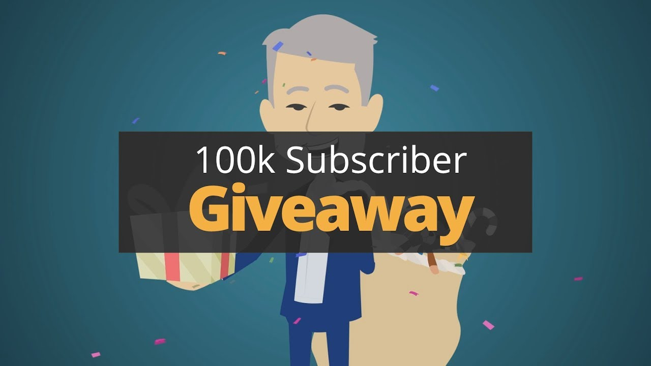 100k Subscribers Giveaway!!   Phil Town