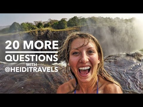 20 (More) Questions with HeidiTravels and Wade Paterson