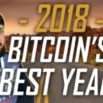2018. Bitcoin's Best Year. 🤔