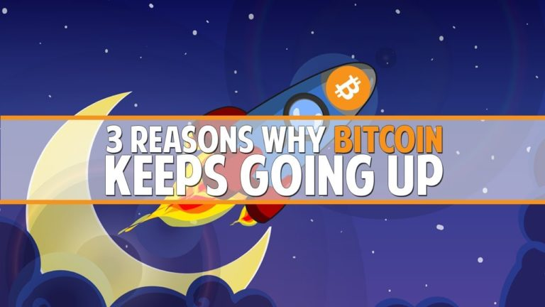 3 Reasons Why Bitcoin Keeps Going Up