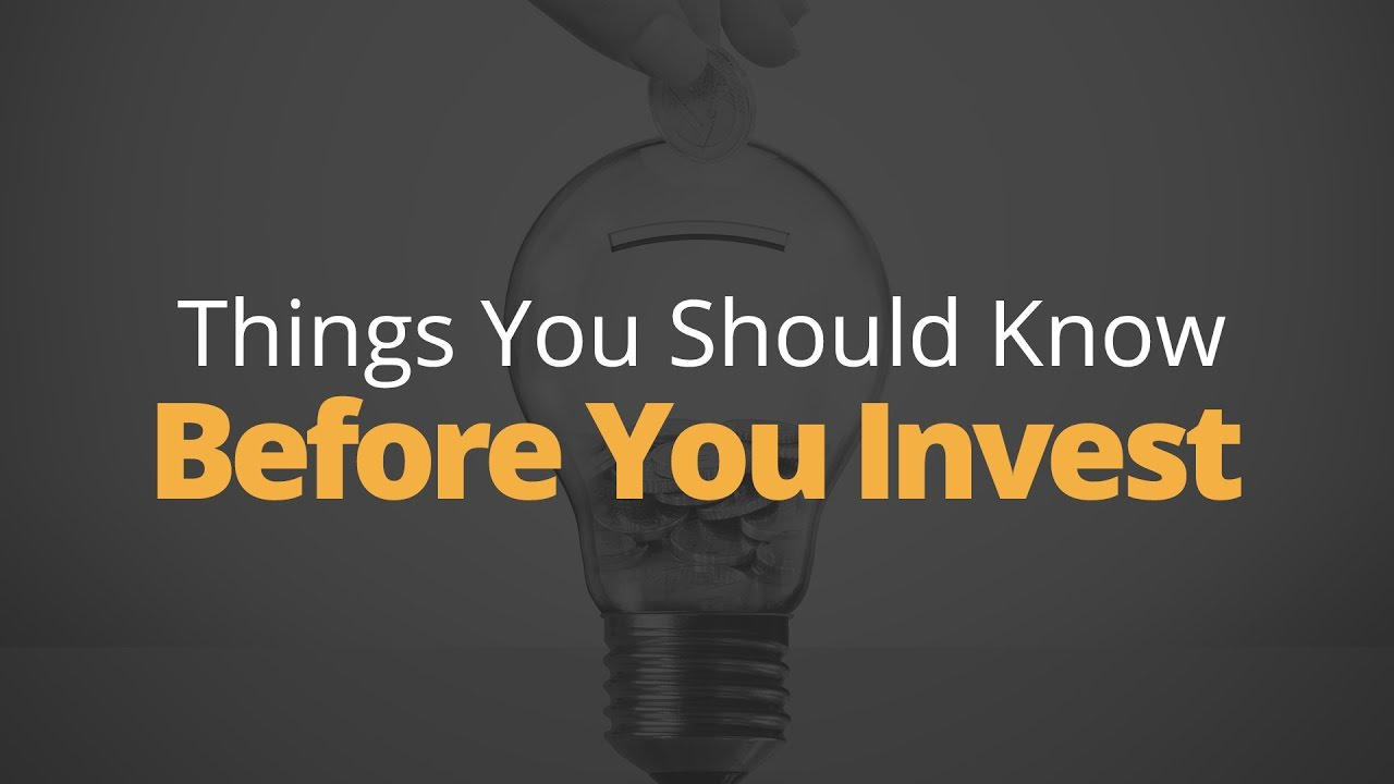 5 Things to Know Before You Invest   Phil Town