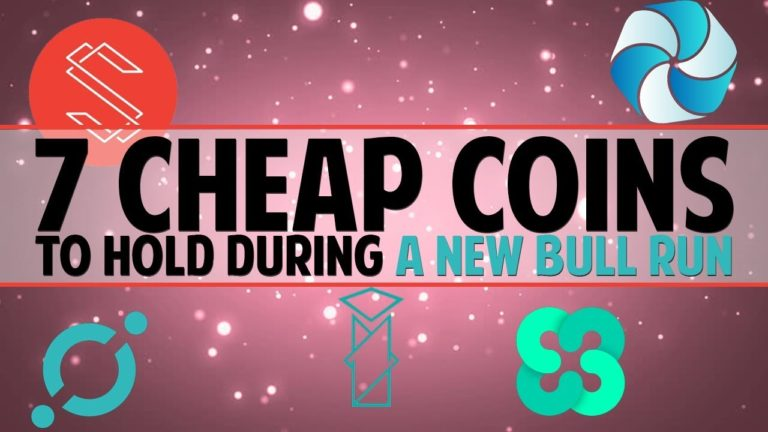 7 CHEAP COINS for a new BULL RUN (Ethos, HPB and more!)