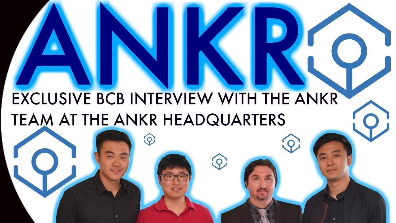 ANKR Network EXCLUSIVE interview.  BlockchainBrad chats with the ANKR exec. team at their office!