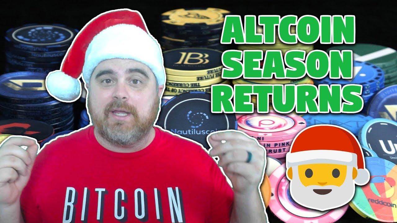 Altcoin Season Returns | Merry Christmas from BitBoy