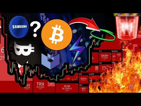 Altcoins DUMP!!! Bitcoin at CRITICAL Point! Samsung Coin Rumors?! Satoshi is ALIVE…?