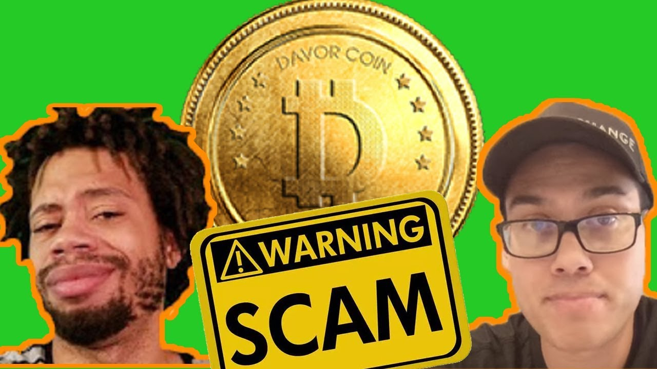 Another SCAM down! First BitConnect now Davorcoin