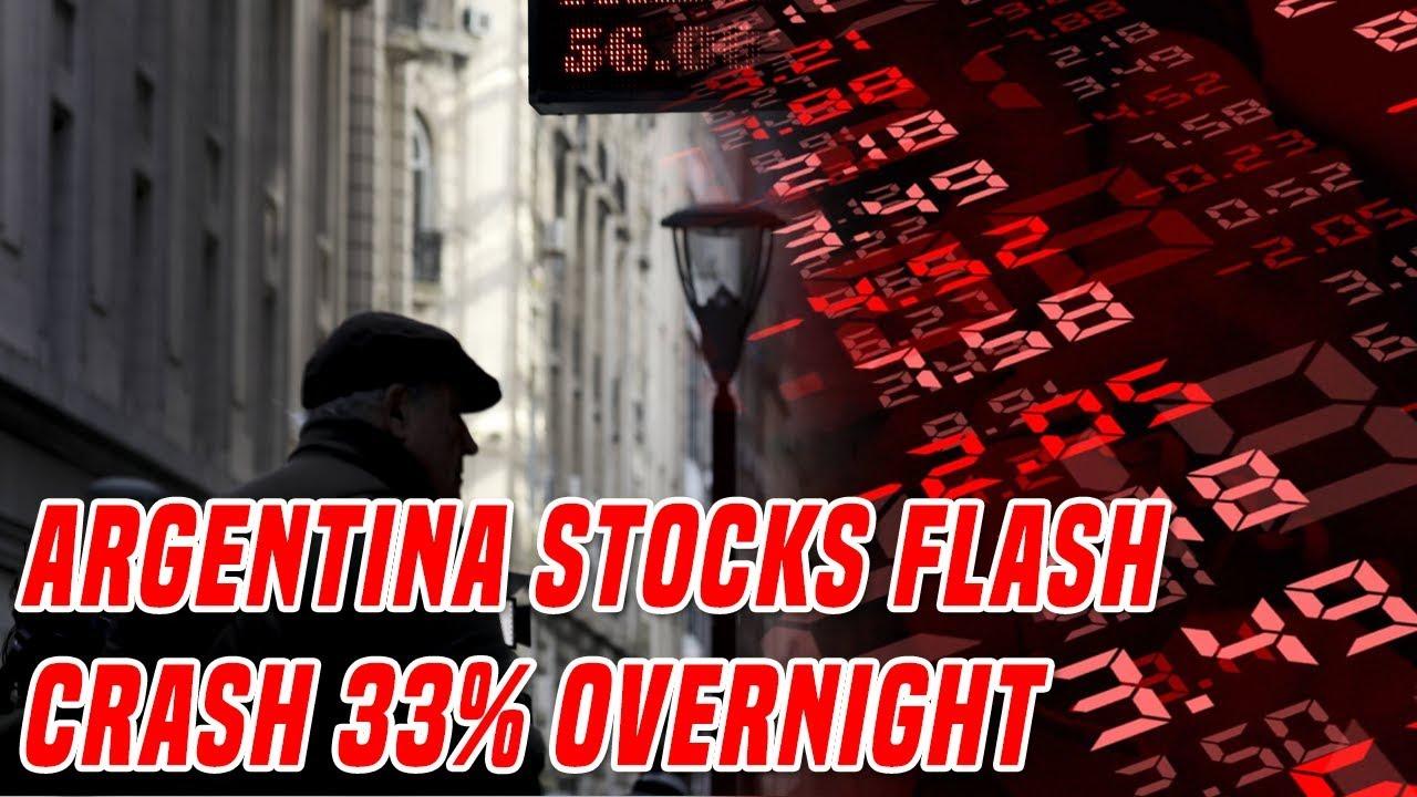 Argentina Stocks Crash 33%   The Contagion Has Just Begun