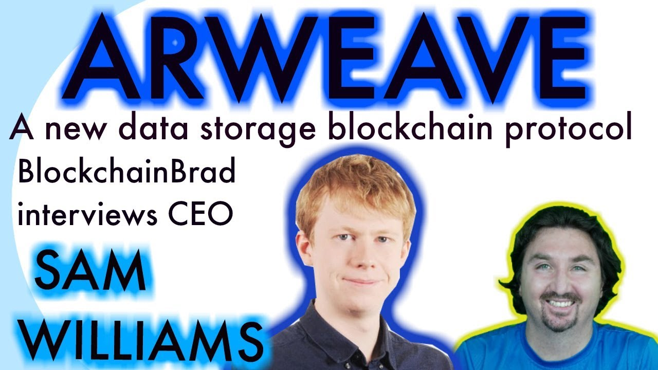 Arweave CEO Sam chats with BCB about a new data storage blockchain